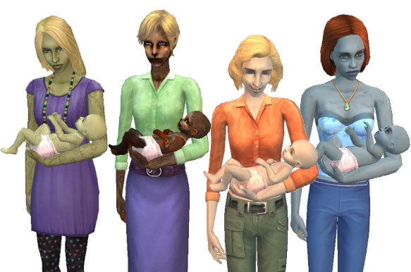 Nude skin the sims 2 photo 20