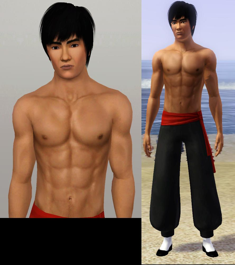 Mod The Sims - The Dragon - The immortal legend Bruce Lee ...