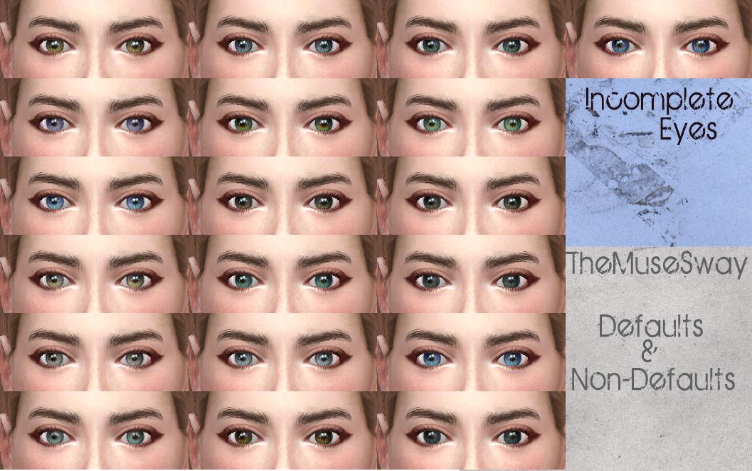 Мод Неполные глаза