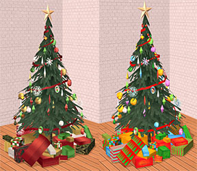 Mod The Sims - Testers Wanted: Natural Christmas Tree, Gifts, and ...
