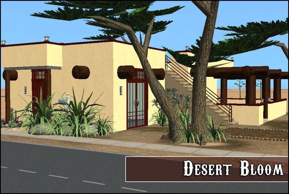 Mod the sims desert bloom for Adobe style modular homes