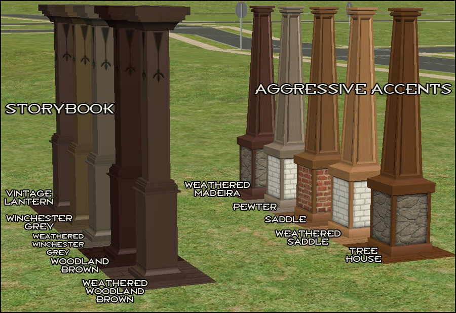 Mod The Sims A Cavalcade Of Columns