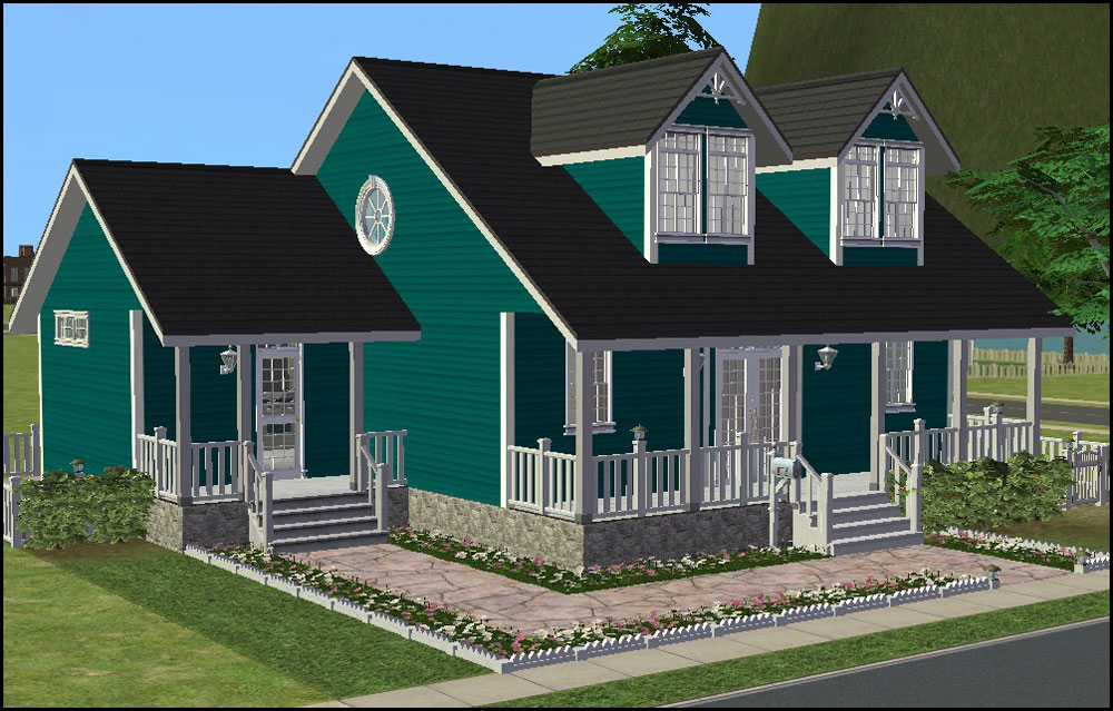 Pretty sims 3 houses images galleries for Classic house sims 3