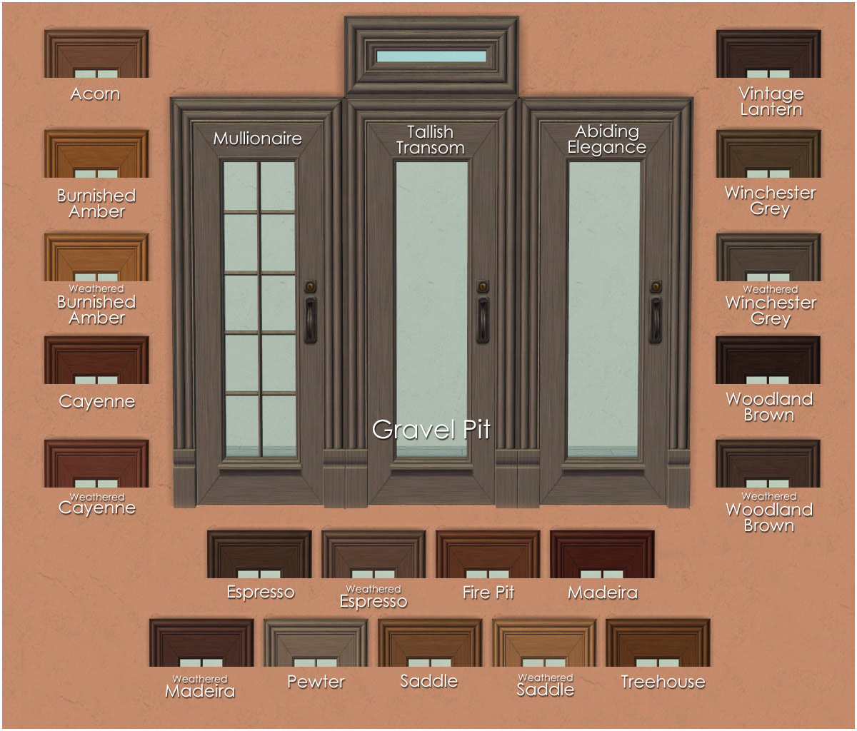 Mod the sims open for business euro door and window for The door and the window