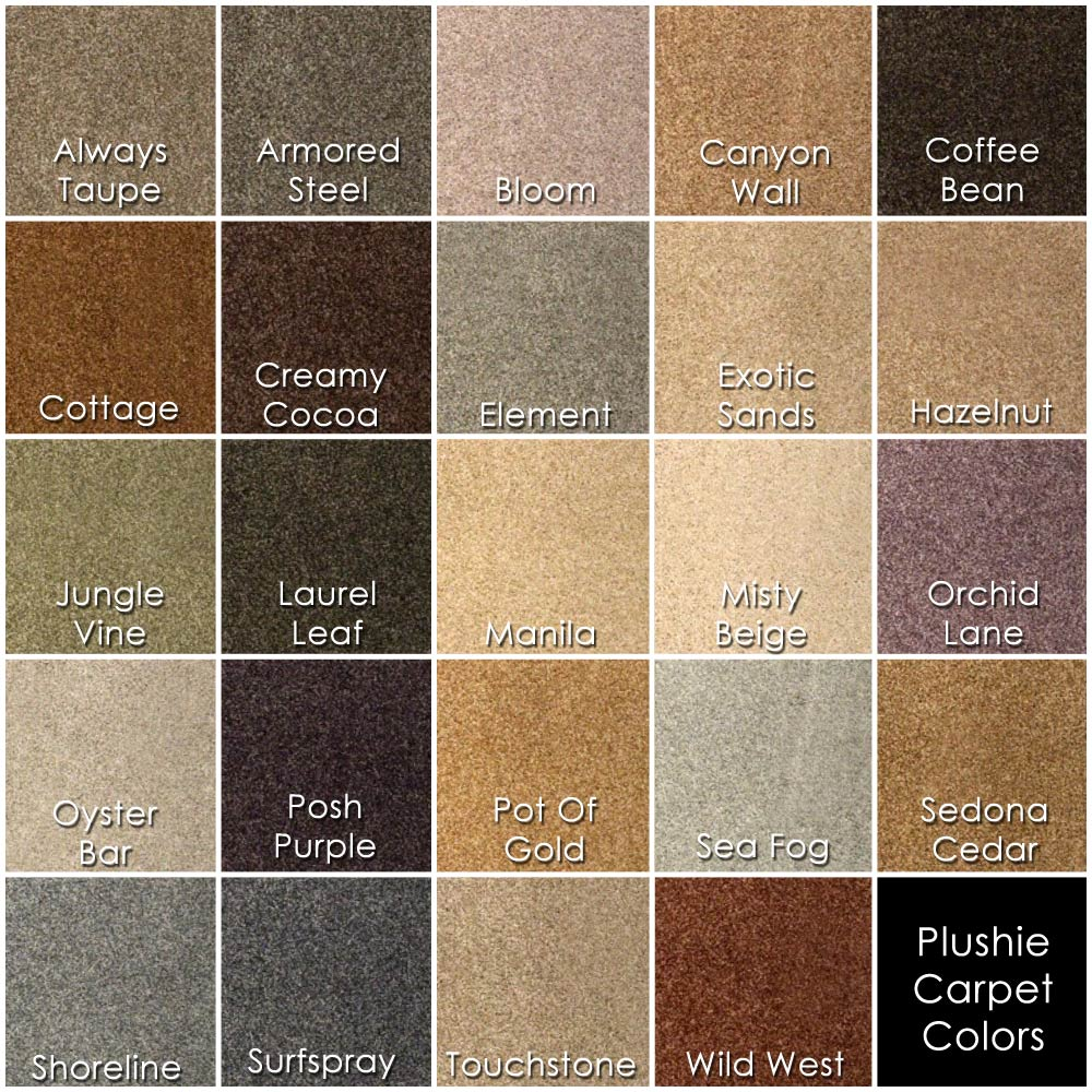 Carpet Colours And Styles