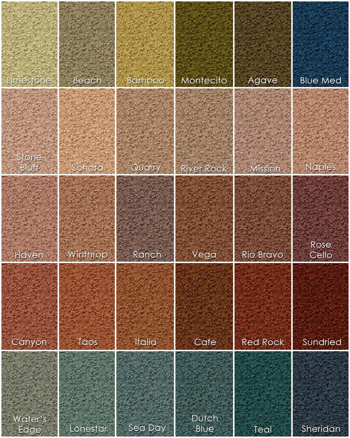 list of synonyms and antonyms of the word stucco colors