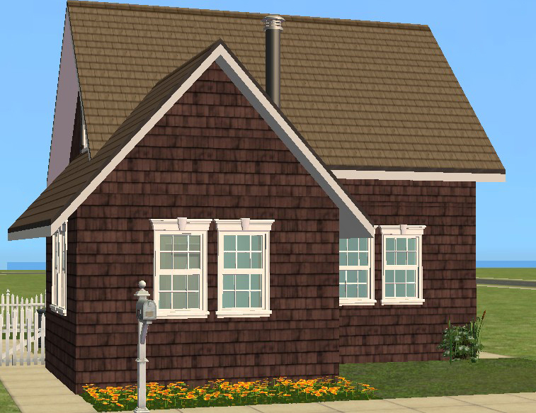 Mod The Sims Cedar Shake Siding