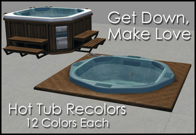 How to get a hot tub in sims 4