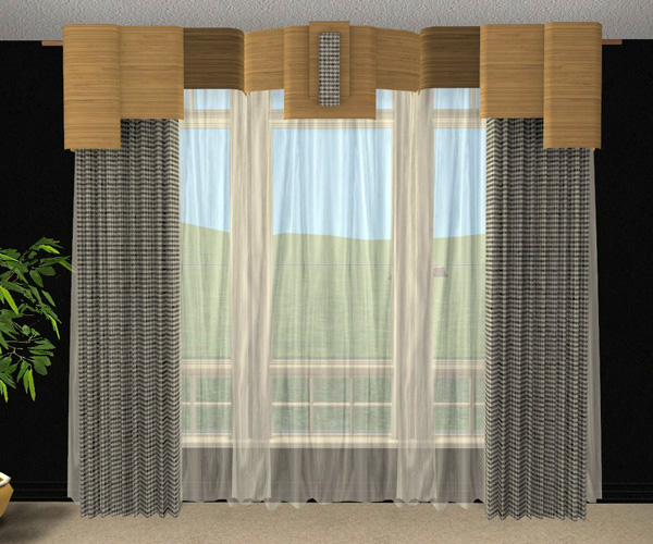 Mod The Sims Pocci S Sheer Curtain Recolors