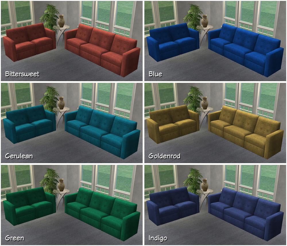 AL Plumper Thumper Sectional Sofa Retextures