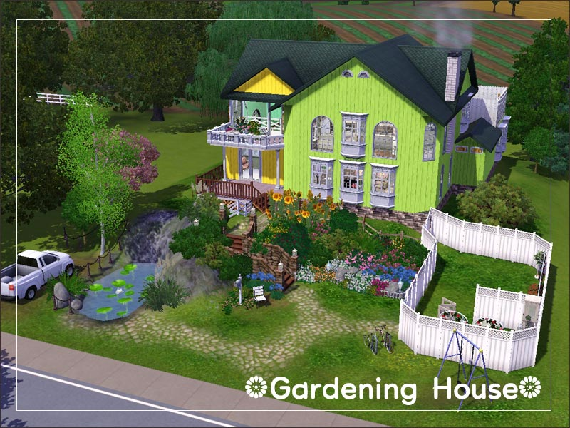 Mod the sims gardening house for Indoor gardening sims 4
