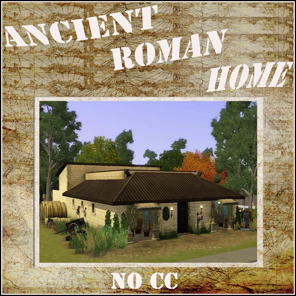 mod the sims ancient roman home no cc