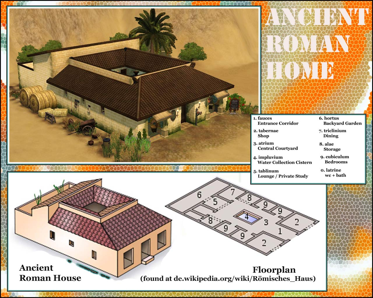 461390 on Roman Bath House Floor Plan