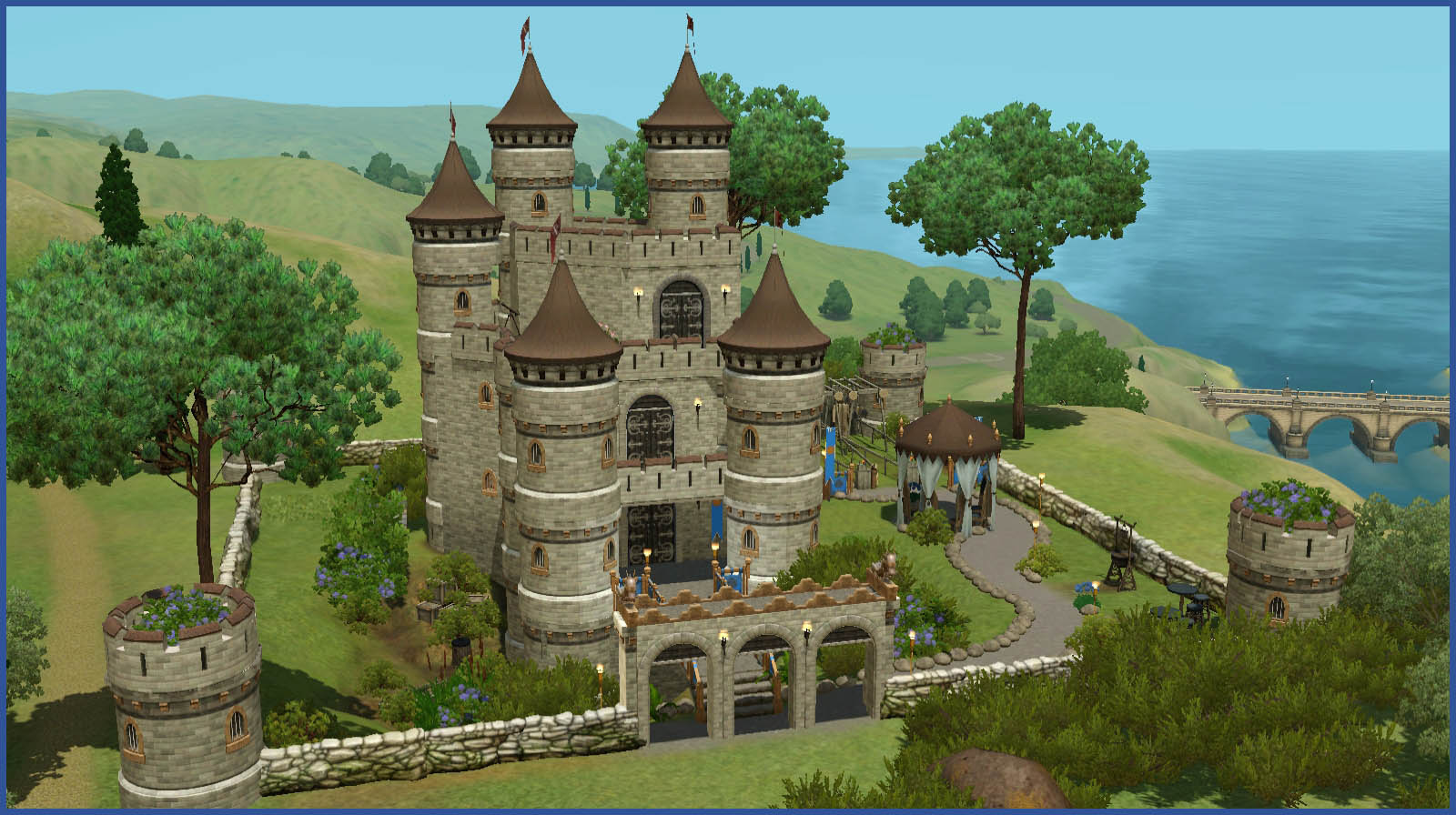 Mod The Sims Dragonhill Castle