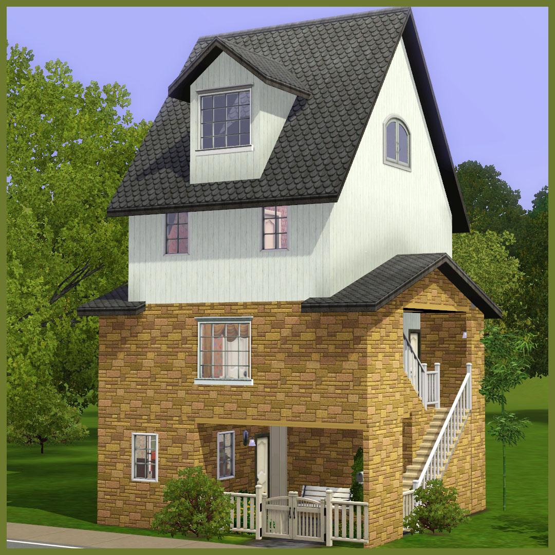 10x10 Tiny Family Home, 4BR, 3BA (No CC