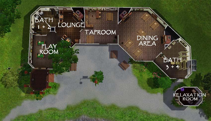 Mod The Sims Lotr Hobbit Community Lot Quot The Green