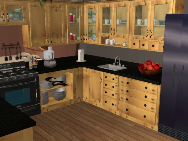 Mod The Sims Updated Pots And Pans Kitchen Clutter For