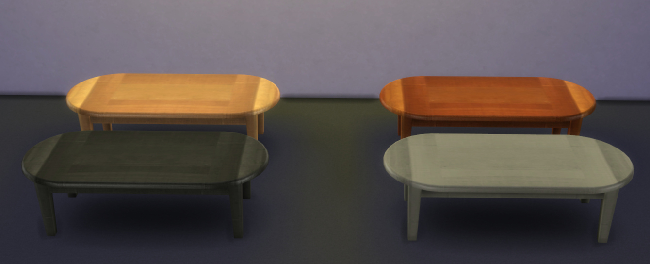 mod the sims - ts2 to ts4 - 15 coffee tables