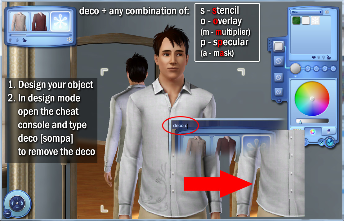 how to go streaking in sims 3