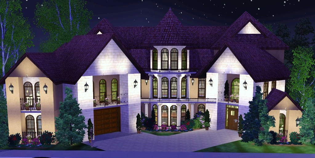 Mod the sims a southern mansion for Beach house 3 free download