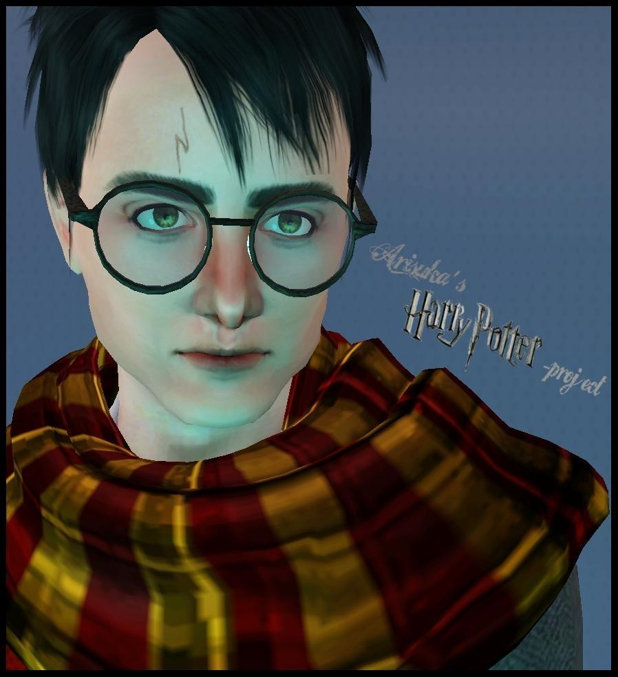 Mod The Sims - Daniel Radcliffe as Harry Potter