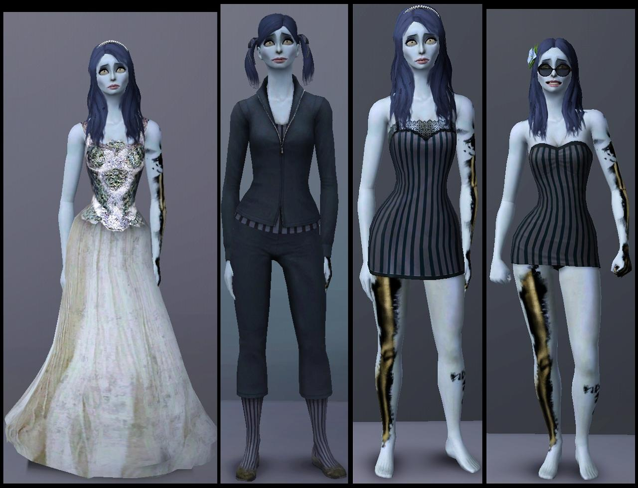 Mod The Sims Tim Burtons Corpse Bride