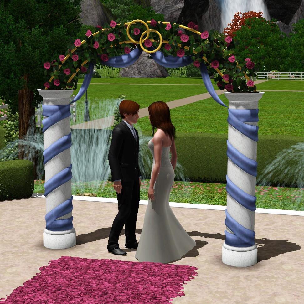 Mod The Sims Wedding Arches Ts2 Celebration Sp Ts4 Bonus