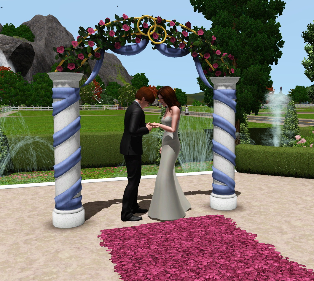 Свадьба в симс medieval