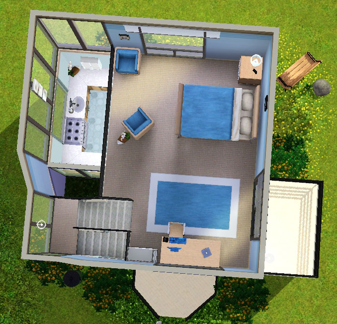 Admirable Mod The Sims Small Modern House Largest Home Design Picture Inspirations Pitcheantrous