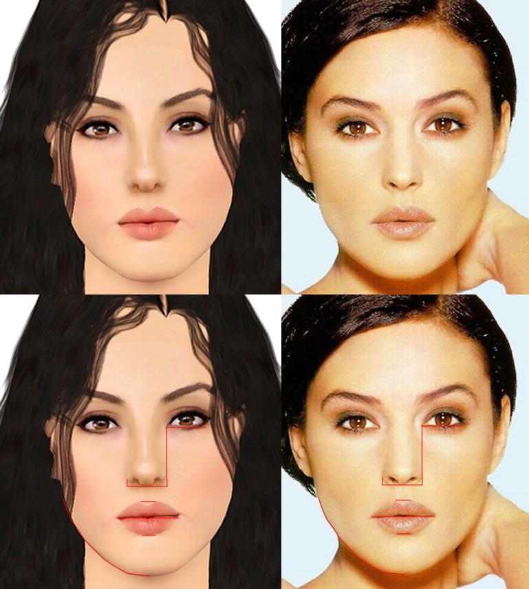 Mod The Sims Monica Bellucci Quot La Bellissima Quot