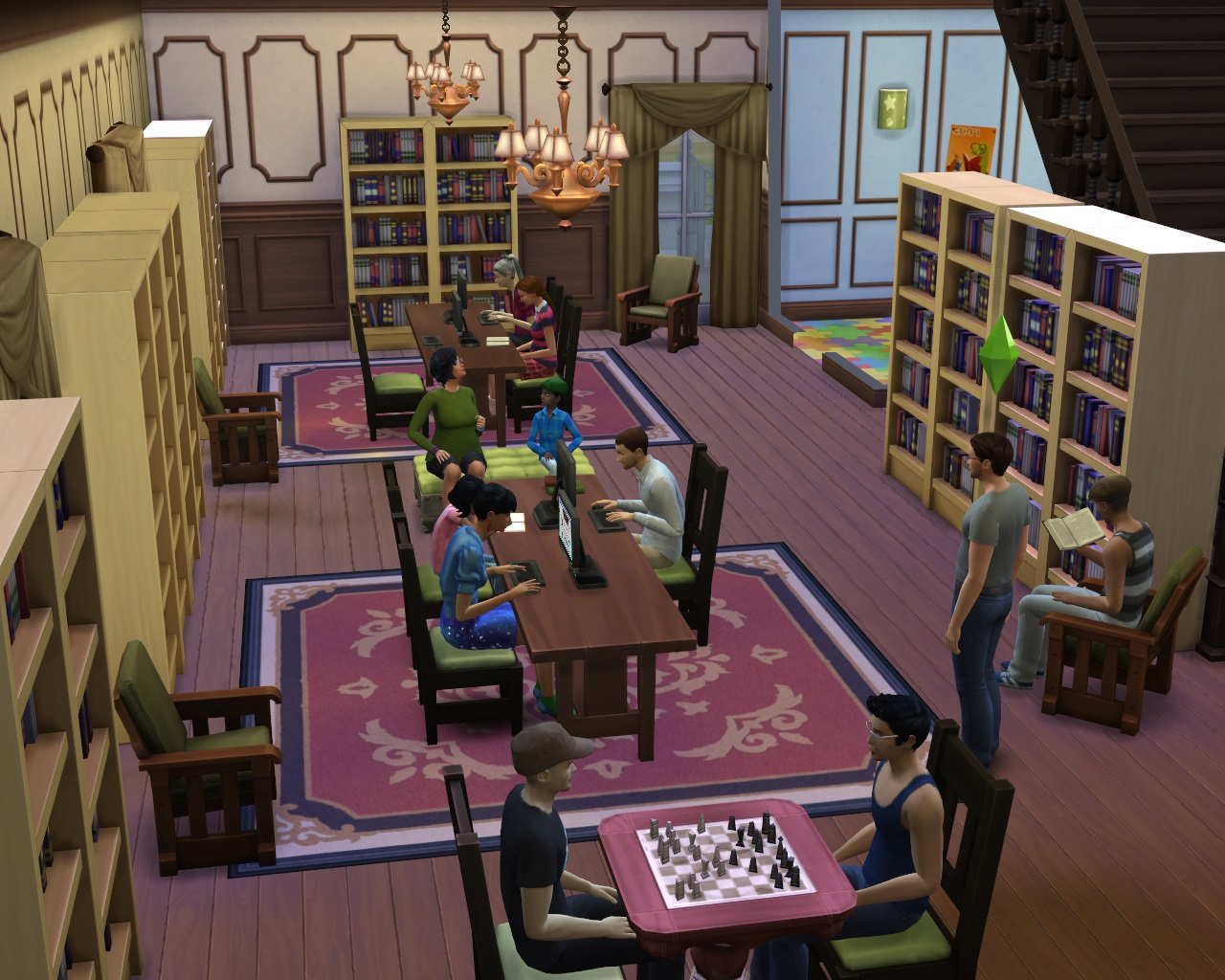 mod the sims  improved lighting (v  patch) - advertisement