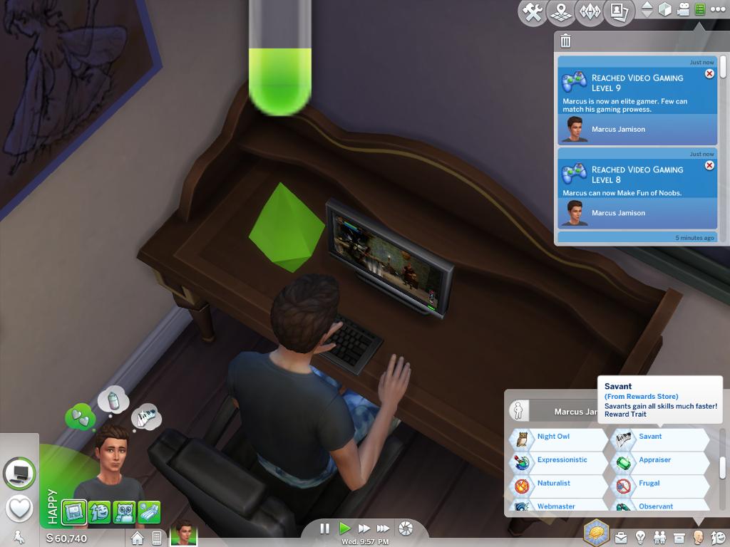 Mod The Sims - Savant Trait Faster Skills (1 19)