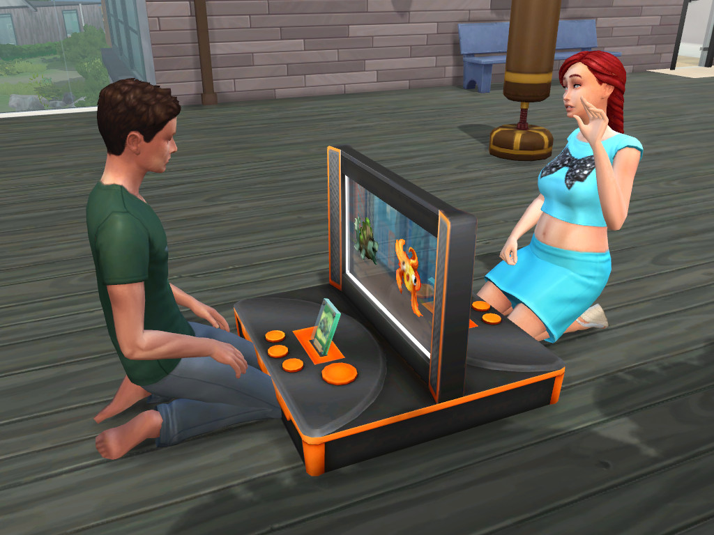 mod the sims play voidcritters for all ages. Black Bedroom Furniture Sets. Home Design Ideas