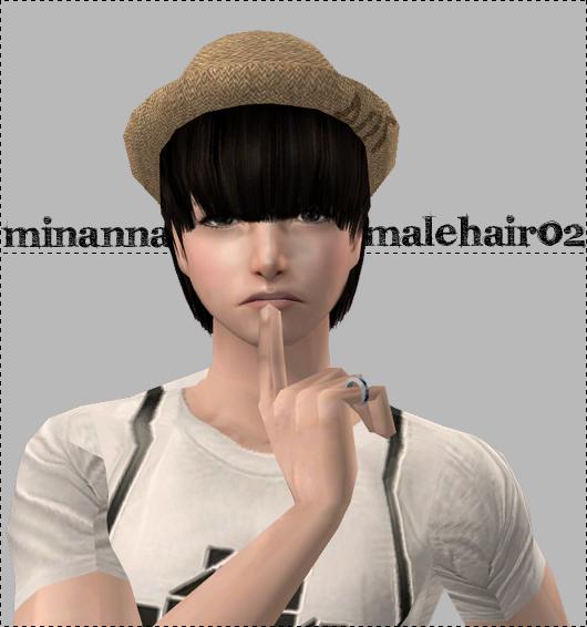 Sims 3 g dragon hair