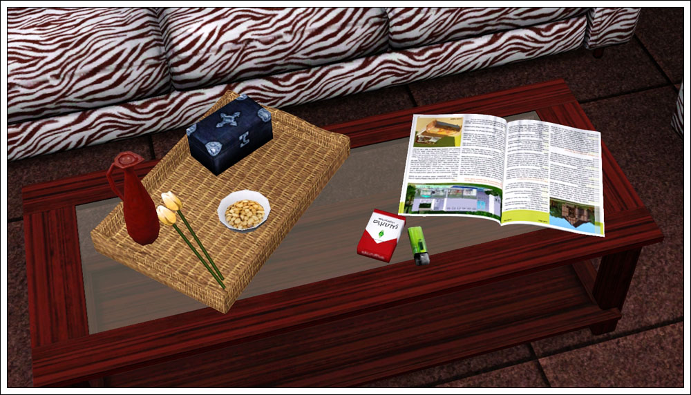Mod The Sims Clutter Gt Livingroom