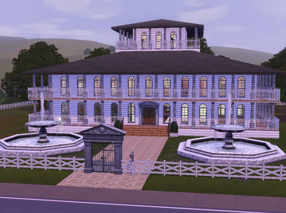 Mod The Sims Historic Riverview Plantation House