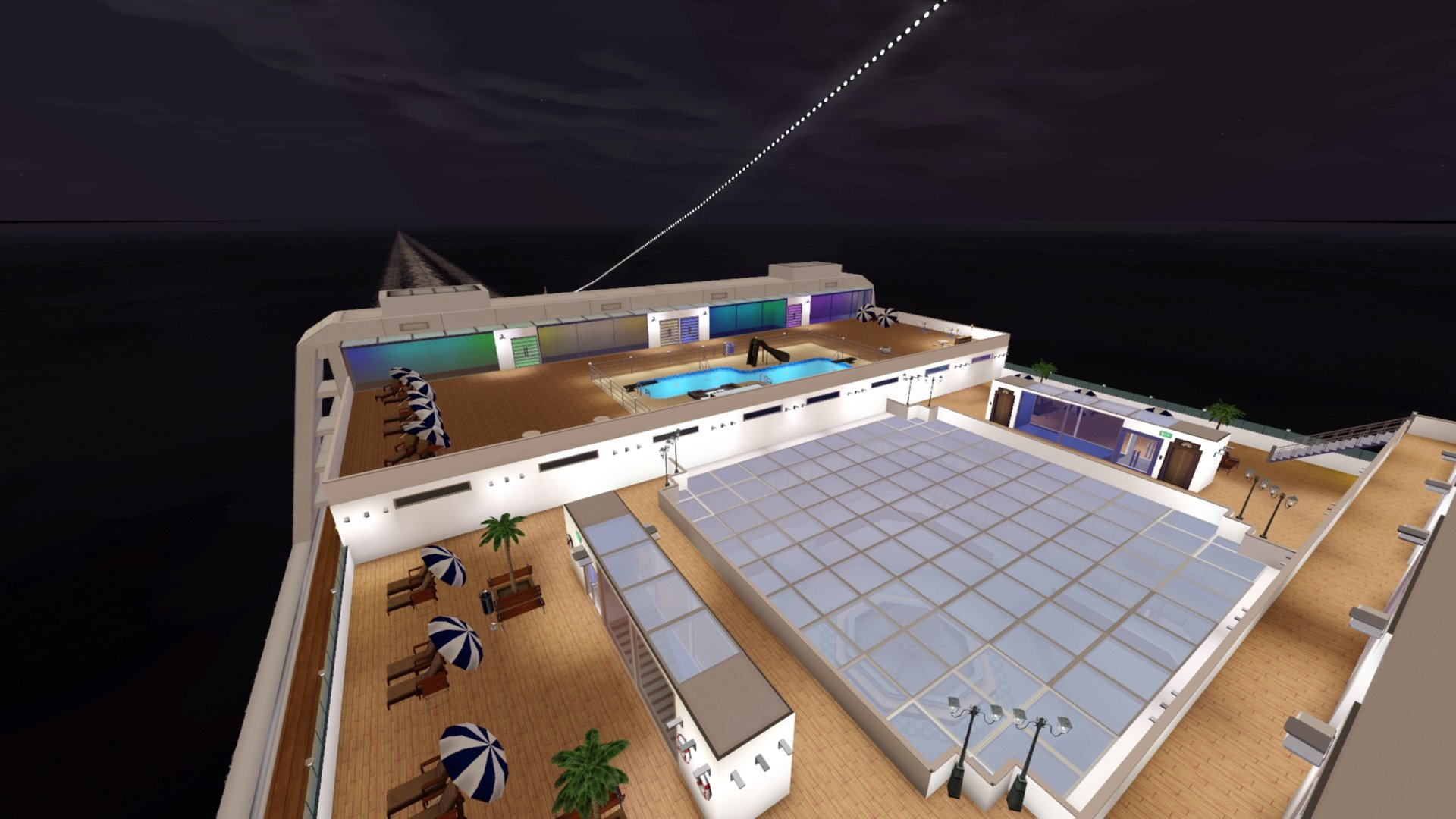 Mod The Sims - MS Plumbob Dream - Captain's Deck