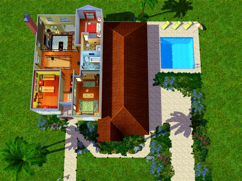 mod the sims villa malibu