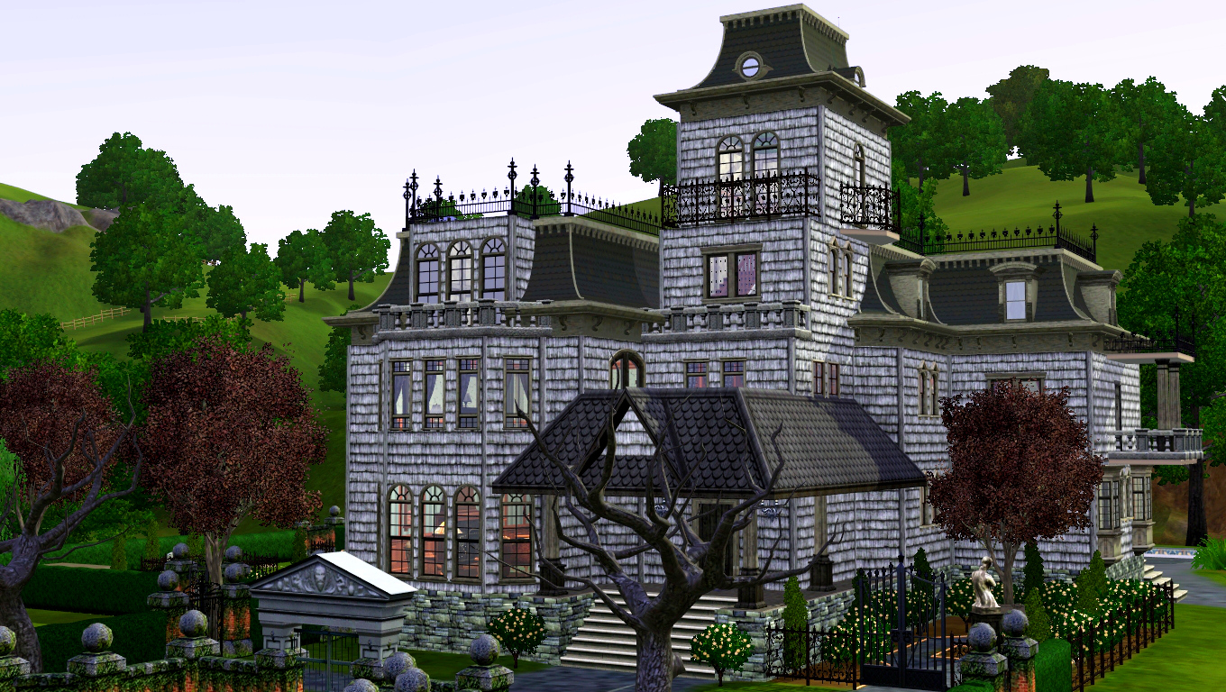 Mod The Sims Mighty Mansard Redux Store Edit Amp More Updated