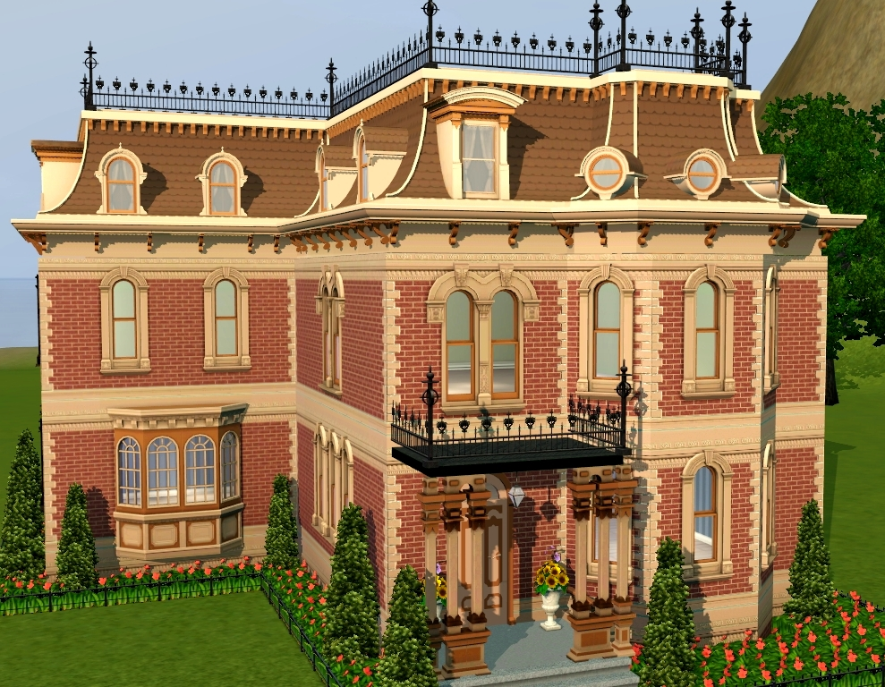 Mod The Sims - Mighty Mansard Redux! - Store Edit & More ...