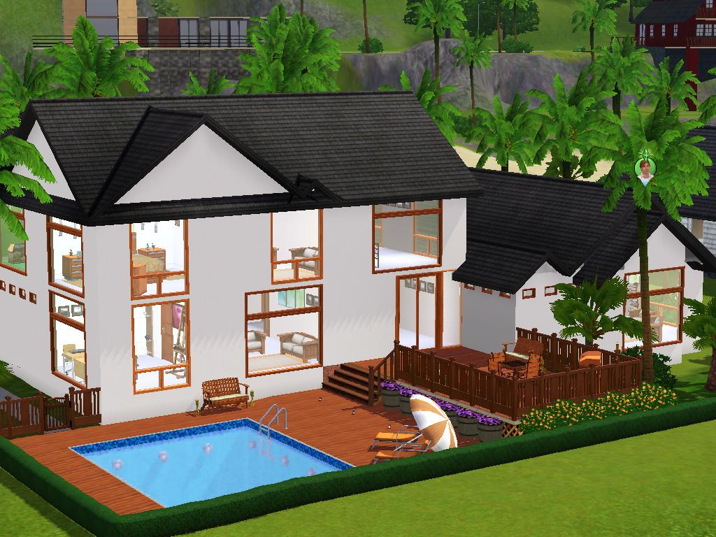 Mod the sims big house for a family of 3 4 for A family house
