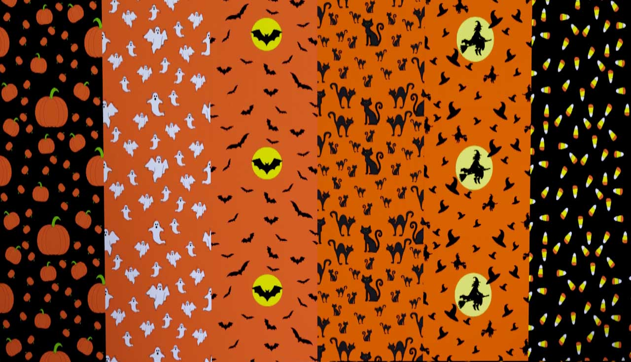Mod The Sims - Halloween Pattern pack