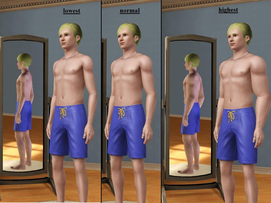 Mod The Sims Arm And Belly Sliders Updated For 1 55