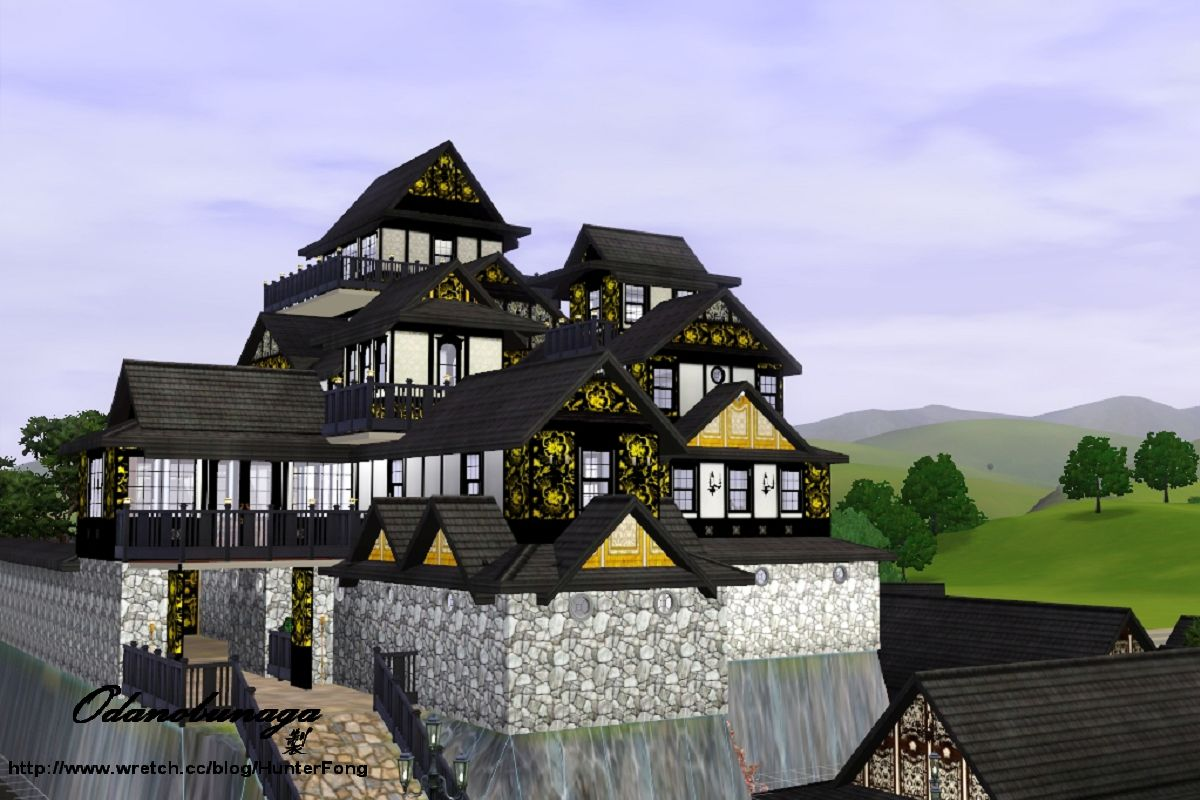 sims 2 japanese fortress - photo #28