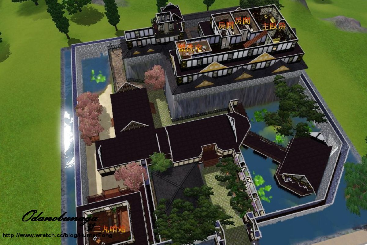 sims 2 japanese fortress - photo #29