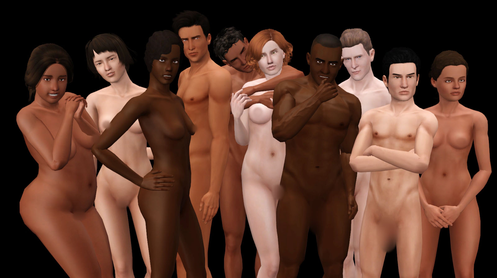 Sims 3 penis nude mesh for male  xxx video