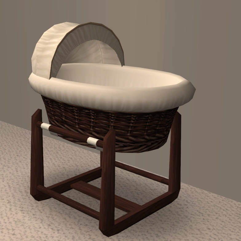Little Babies Sleep Well In Moses Baskets   Often Better Than In A Larger  Crib Due To The Enclosed Feeling Being Comforting And Cozy.