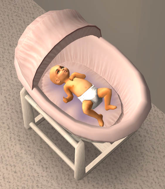 Mod The Sims Moses Basket With Stand