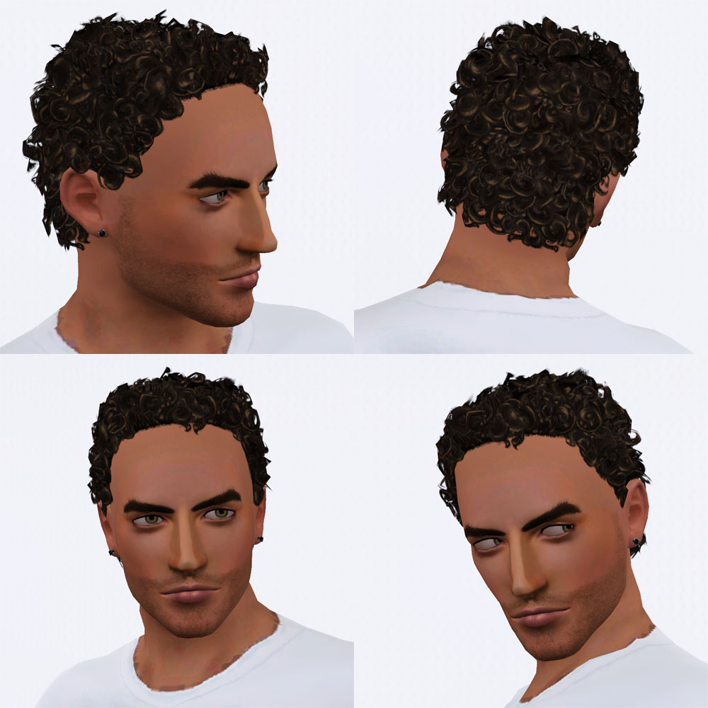 Mod The Sims Cherub Curly Hair All Ages Both Genders
