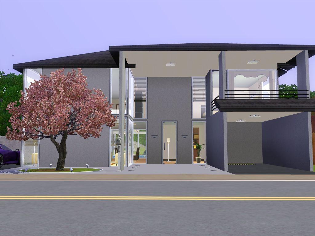 Mod The Sims Lightz On Minimalist House On Maywood Lane